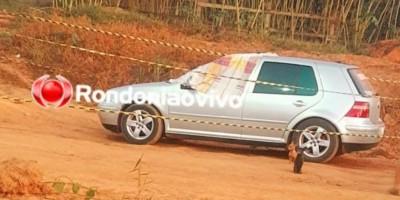 Motorista é executado a tiros dentro de automóvel em distrito de Porto Velho