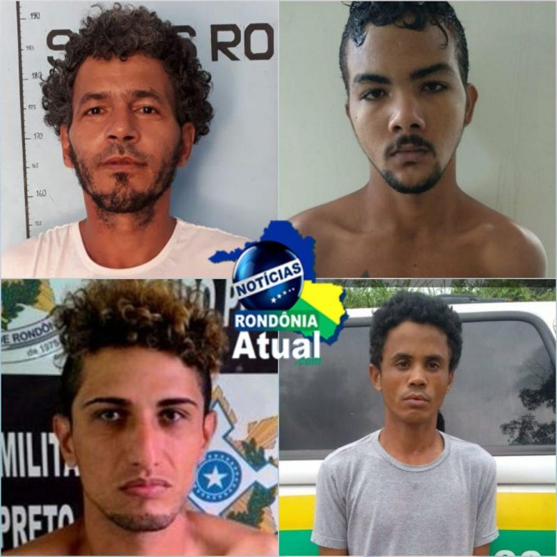 Quatro detentos fogem de presídio em Ji-Paraná