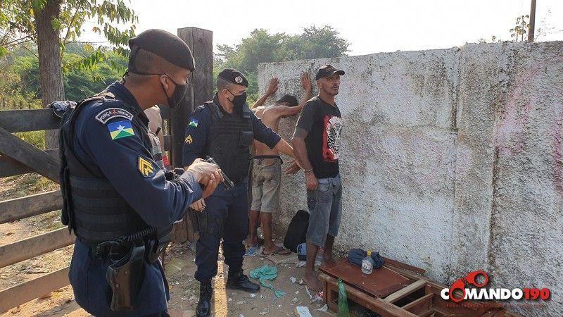 PM recaptura dois apenados que fugiram do Presídio Agenor Martins de Carvalho no último domingo