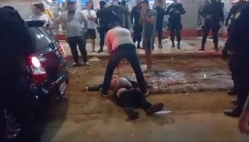 Assaltante é morto após manter família refém em Porto Velho; veja o vídeo