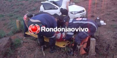 Acidente na BR-364 deixa vítimas presas nas ferragens em Porto Velho