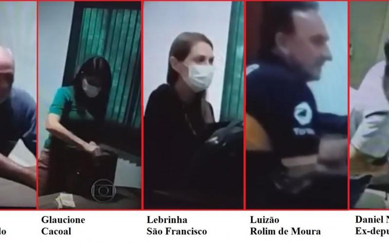 Imagens inéditas mostram prefeitos recebendo dinheiro de propina em RO e ganham destaque em rede nacional