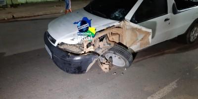 Condutor embriagado e sem habilitação provoca grave acidente em Ji-Paraná; veja o...