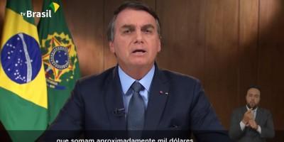 Mulher vai à justiça por auxílio emergencial de mil dólares, citado por Bolsonaro em...
