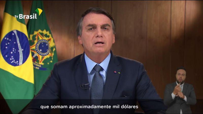 Mulher vai à justiça por auxílio emergencial de mil dólares, citado por Bolsonaro em discurso na ONU