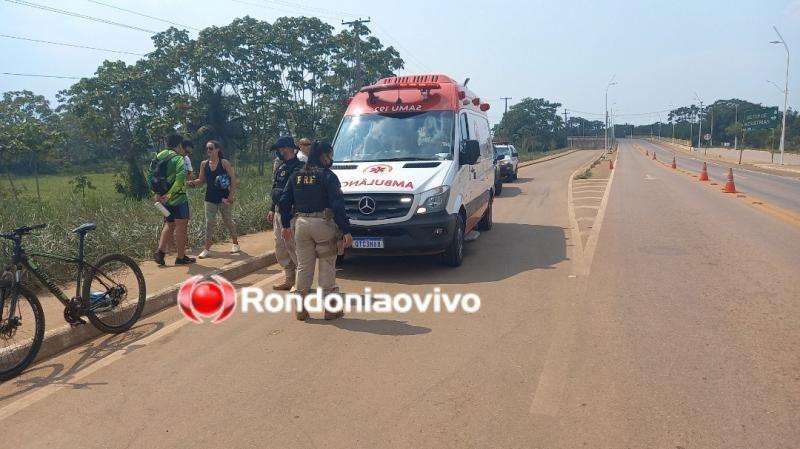Bombeiro morre enquanto fazia ciclismo na ponte sobre o Rio Madeira em Porto Velho