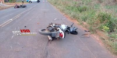 Grave acidente deixa uma vítima fatal e outra gravemente ferida em Alta Floresta