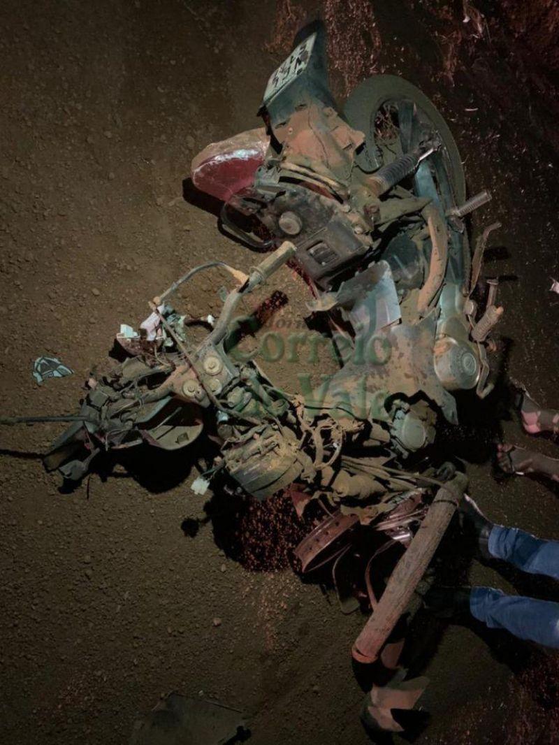 Acidente entre motocicleta e Hillux deixa vítima fatal na zona rural de Nova Brasilândia