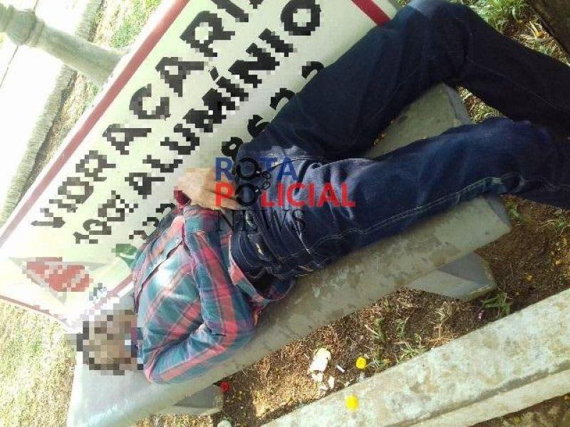 Homem é encontrado morto em banco de praça de Vilhena; veja o vídeo