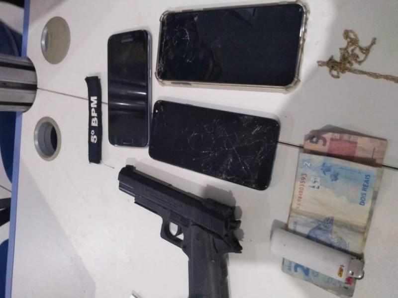 Adolescente é detido após vítima de assalto rastrear celular em Porto Velho