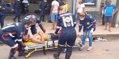Homem sofre tentativa de homicídio no centro de Porto Velho