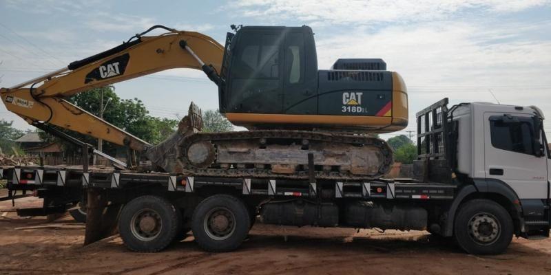 PF cumpre mandados contra extração ilegal de madeira e apreende bens de mais de R$ 1 milhão em distrito de Porto Velho