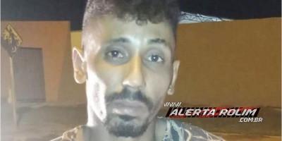 Ladrão é preso em flagrante pela PM após furto em residência em Rolim de Moura