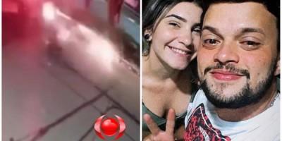 Vídeo mostra viatura da PM atropelando casal que fugiu do Espaço Alternativo, em Porto...