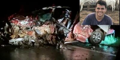 Empresário de Presidente Médici morre em gravíssimo acidente na BR-364; veja o vídeo