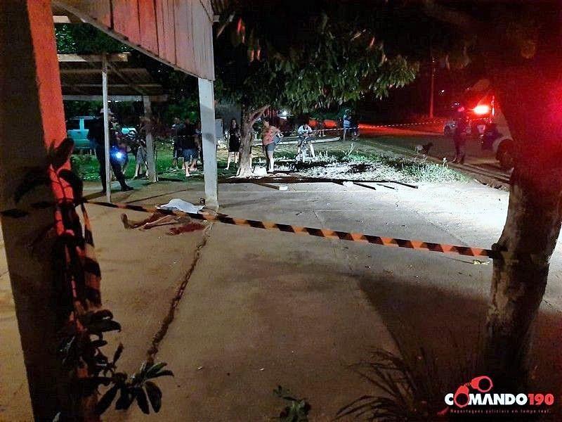 Mulher é assassinada com tiros na cabeça e no tórax em Ji-Paraná