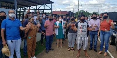 Candidatos a vereador fazem protesto e pedem recontagem de votos em Porto Velho; veja...