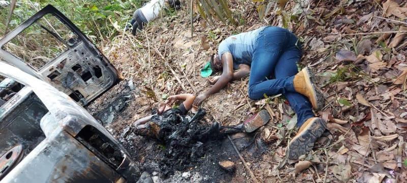 Quatro pessoas são executados em chacina na saída de garimpo em Aripuanã/MT (imagens fortes)
