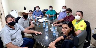 Vereadores eleitos fazem visita a Fabrício Melo e cobram abertura da UPA e do CEO
