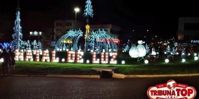 """Para evitar acidentes, comissão organizadora do """"Natal de Luz"""" pede para população..."""