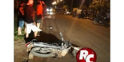 Jovem de 27 anos perde a vida em grave acidente de moto em Costa Marques
