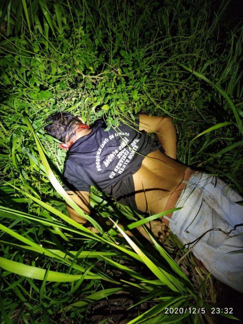 Homem é encontrado morto com corte profundo na boca, na zona rural de Ji-Paraná