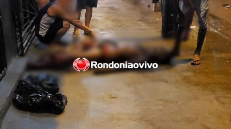 Homem sangra até a morte após ser atacado a tiros durante briga em Porto Velho