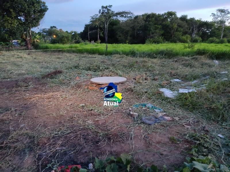 Corpo em avançado estado de decomposição é retirado de dentro de poço em Ji-Paraná
