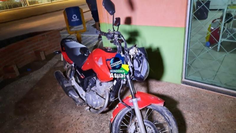 Cinco pessoas ficam feridas em acidente entre motos em Ji-Paraná