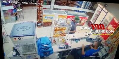 Assaltante é preso após efetuar roubo em posto de combustível em Alta Floresta; veja o...