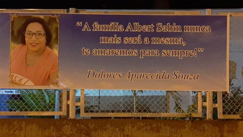 Rolim de Moura: Servidores fazem carreata e homenageiam Dolores, vítima da covid-19