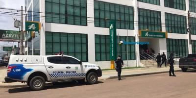 Bandidos roubam R$ 50 mil de empresário em frente a banco em Porto Velho