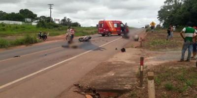 NOTA DE ESCLARECIMENTO: Grave acidente de trânsito deixa duas vítimas fatais na BR-364...