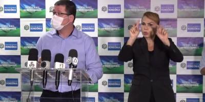 Marcos Rocha diz que ainda não definiu sobre continuidade das medidas restritivas