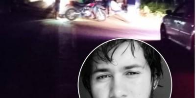 Jovem que morreu em acidente envolvendo motos em Chupinguaia deixou mensagem no Facebook:...