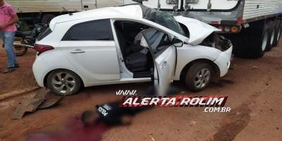 Cacoal: Assaltantes causam acidente de trânsito e um acaba morto durante tiroteio com...