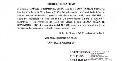 MARCELO CRISTIANO DA COSTA - LP - LI - LO