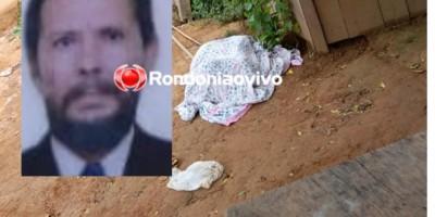 Restos mortais de idoso são jogados na frente da casa de seus familiares