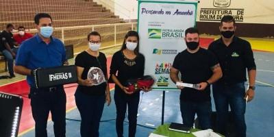 12 associações são contempladas com material esportivo em Rolim de Moura