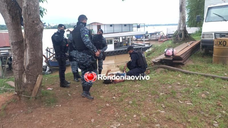 Homem é morto e mulher é baleada durante tiroteio na ponte sobre Rio Madeira em Porto Velho; veja o vídeo
