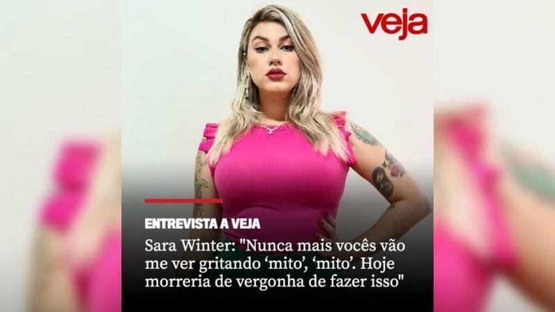 Sara Winter, ex-ativista e apoiadora de Bolsonaro diz: