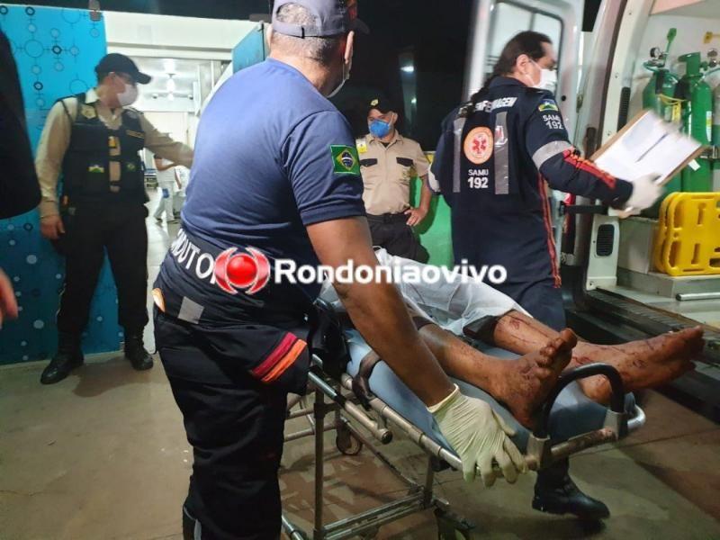 Jovens de 16 e 18 anos sofrem tentativa de homicídio a tiros em Porto Velho