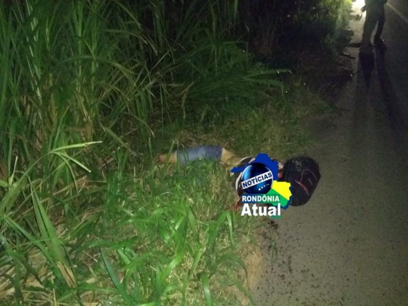 Jovem de 24 anos morre em grave acidente na BR-364 entre Ji-Paraná e Presidente Médici