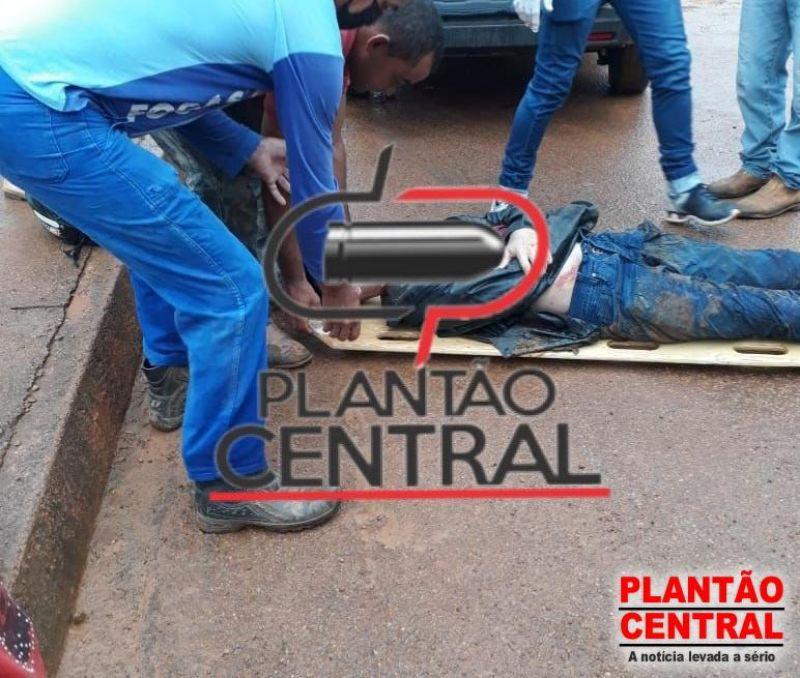 Motociclista morre atropelado por caminhão em distrito de Porto Velho