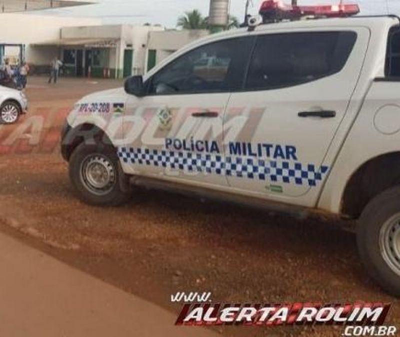 Mulher é baleada após tentativa de roubo de moto nesta manhã de domingo em Rolim de Moura