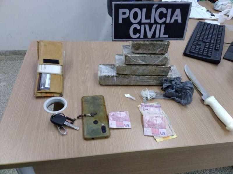 Ex-candidato a vereador é preso com 1 kg de maconha dentro da cueca em Ji-Paraná