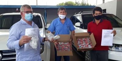 Grupo Cesar energia doa mais medicamentos de prevenção a COVID