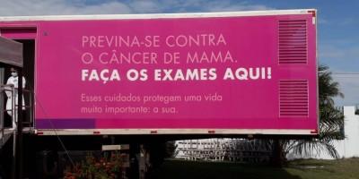 Rolim de Moura: Carreta da mamografia do Hospital do Amor já está no município