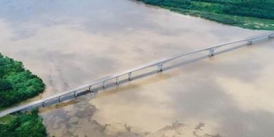 Ponte que liga RO ao AC deve ser entregue este mês, 'a depender a agenda de Bolsonaro'