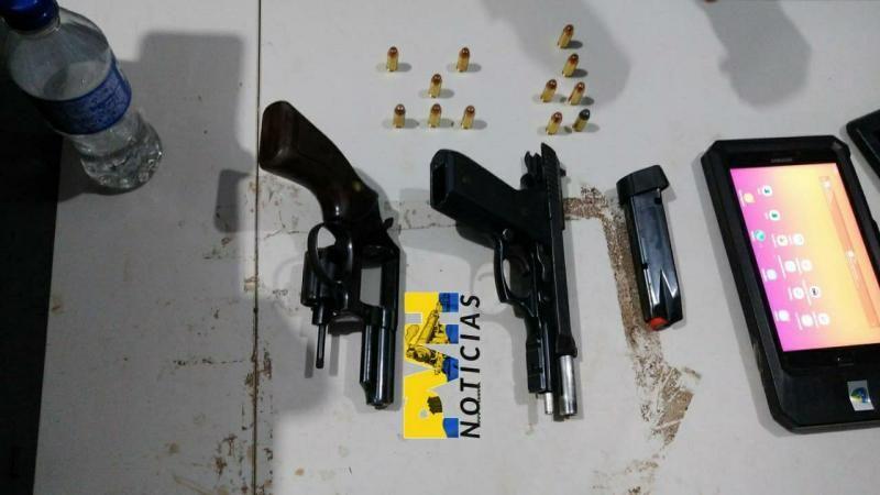 Trio armado é preso após roubo a empresa e troca de tiros com a Polícia em Porto Velho